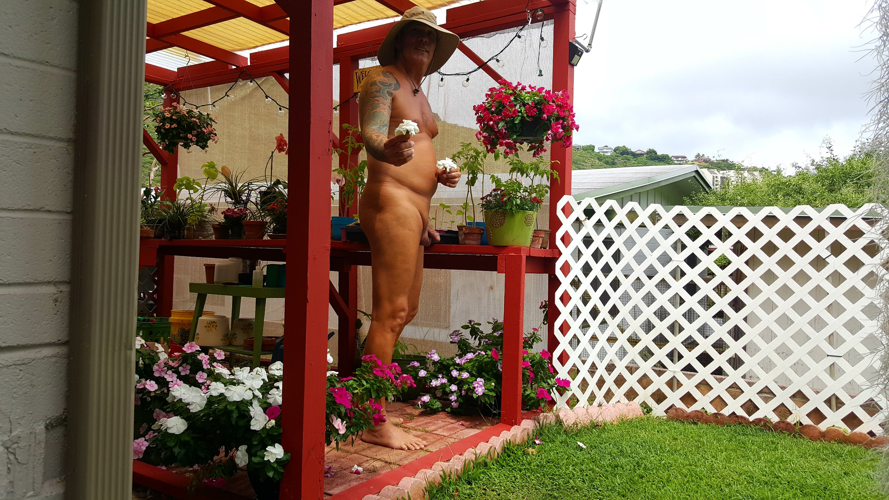 World Naked Gardening Day – The Paradise Nudist Chronicles